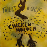 Chicken Holder poster